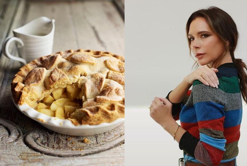 Almás pite Victoria Beckham módra: Készítsd el a sztár receptjét