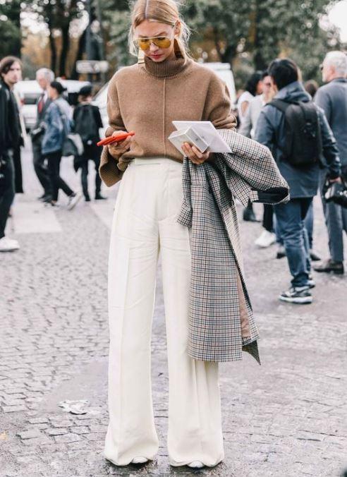 Te viselnéd télen? Fehér nadrág a szezon legnagyobb trendje