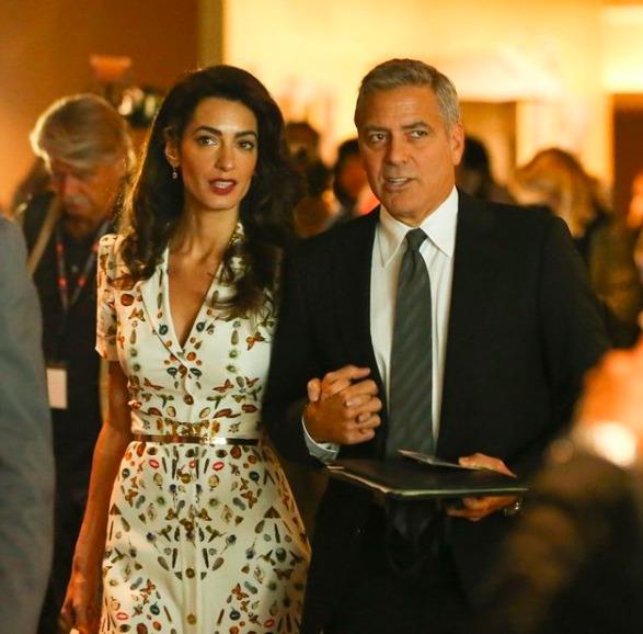 "George Clooney: ""Amal megölne ezért"""