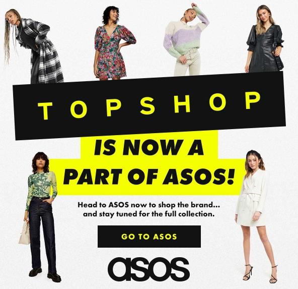 Az Asos felvásárolta a becsődölt Topshopot