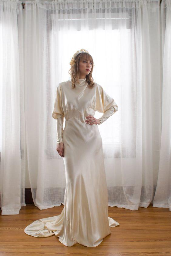 100 éves áttekintés: Ezekben a ruhákban mentek férjhez a nők