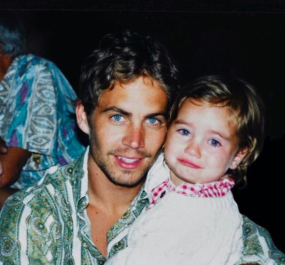 Paul Walker lánya modell lett: így néz ki most a sztárcsemete