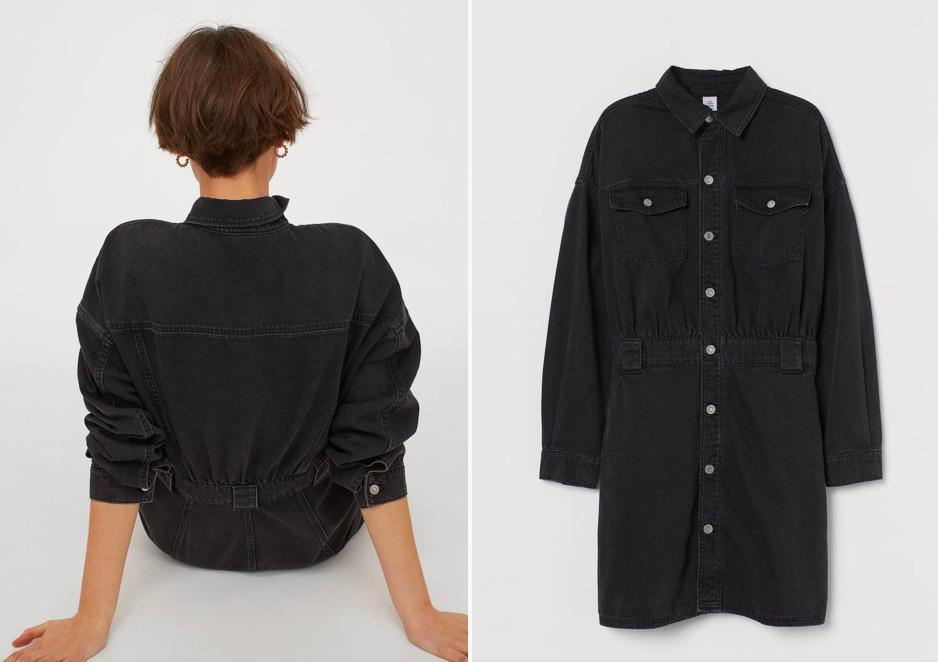 Itt a tökéletes farmer ruha a H&M-ből, ami minden nőnek egyformán jól áll
