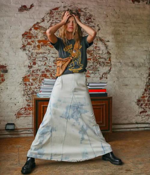Mit viselj a maxiszoknyákkal? Sokoldalú kombinációk bármilyen alkalomra