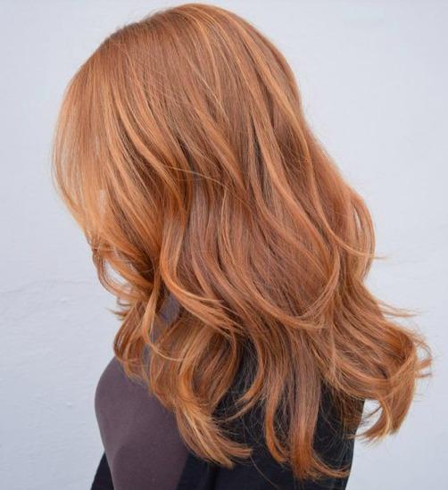 Gyömbér haj: Így néz ki az október hajszíne